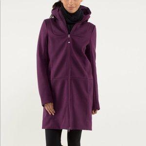 Lululemon City Tweed Soft shell Jacket 6